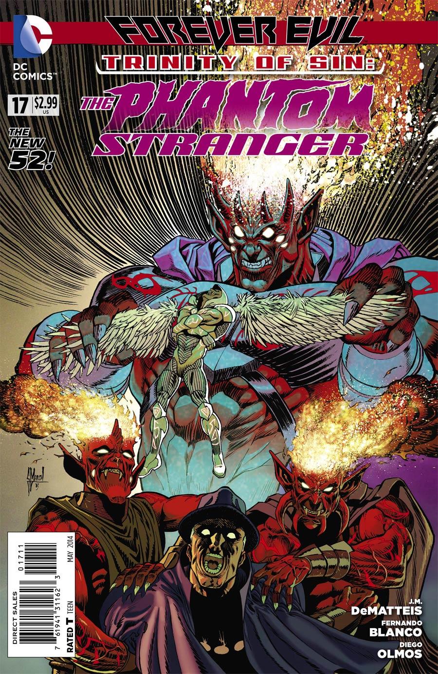 Trinity Of Sin Phantom Stranger #17 (Forever Evil Tie-In)