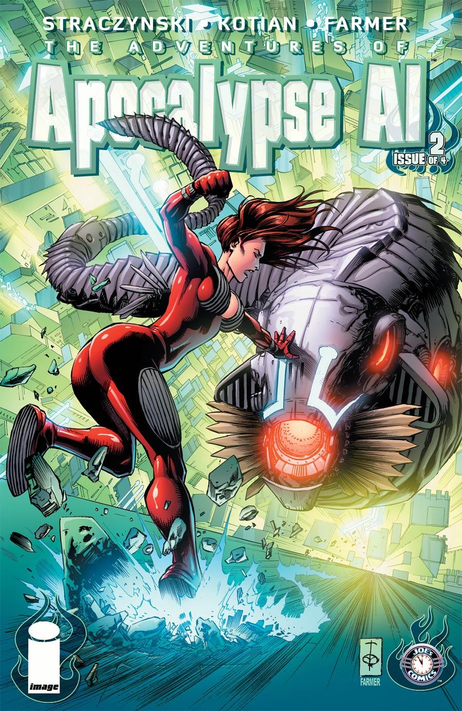 Apocalypse Al #2 Cover A Sid Kotian & Bill Farmer