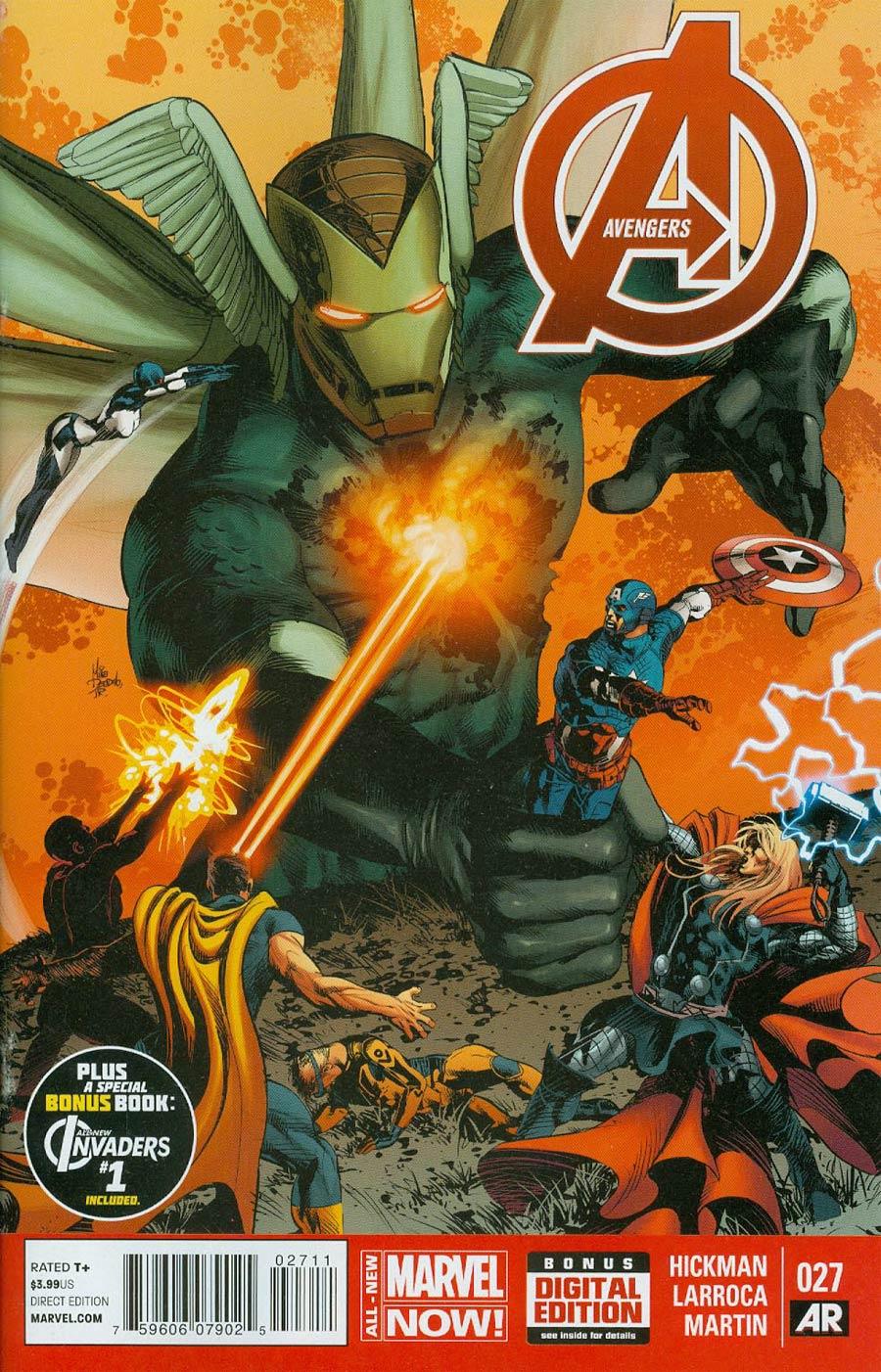 Avengers Vol 5 #27 Cover A Regular Mike Deodato Jr Cover