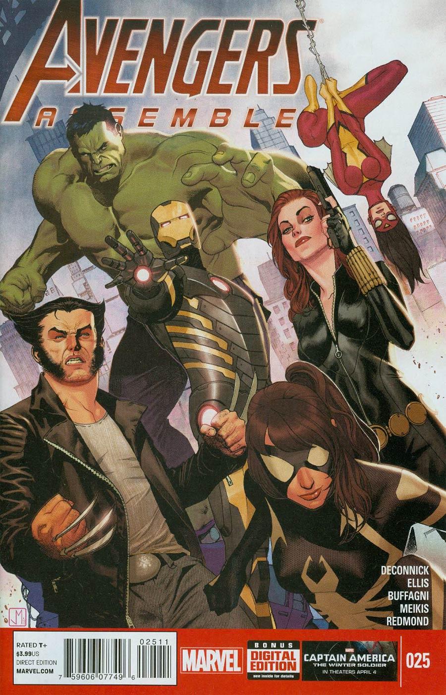 Avengers Assemble #25 Cover A Regular Jorge Molina Cover