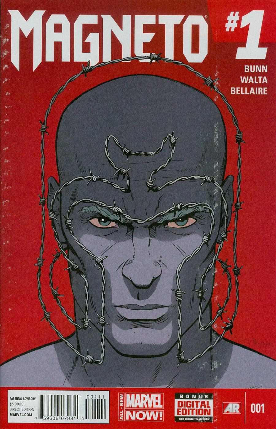 Magneto Vol 3 #1 Cover A 1st Ptg Regular Paolo Rivera Cover