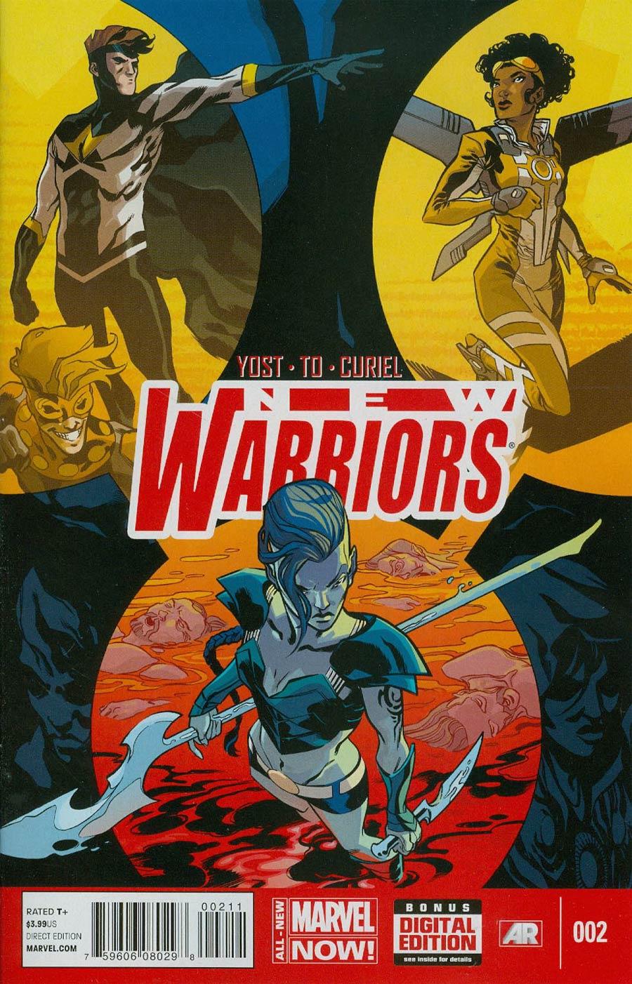 New Warriors Vol 5 #2 Cover A Regular Ramon Perez Cover