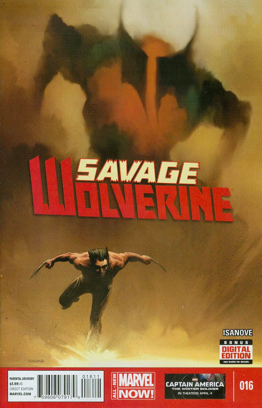 Savage Wolverine #16 Cover A Regular Richard Isanove Cover