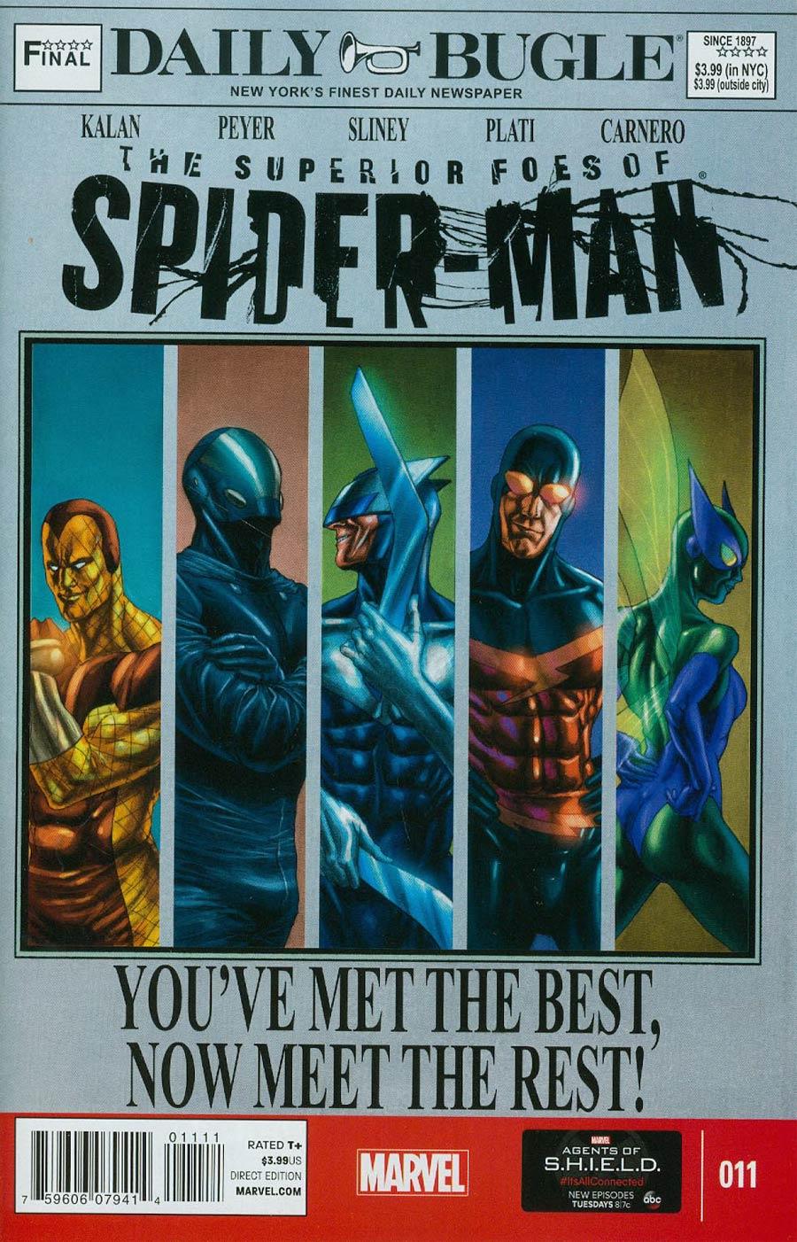 Superior Foes Of Spider-Man #11
