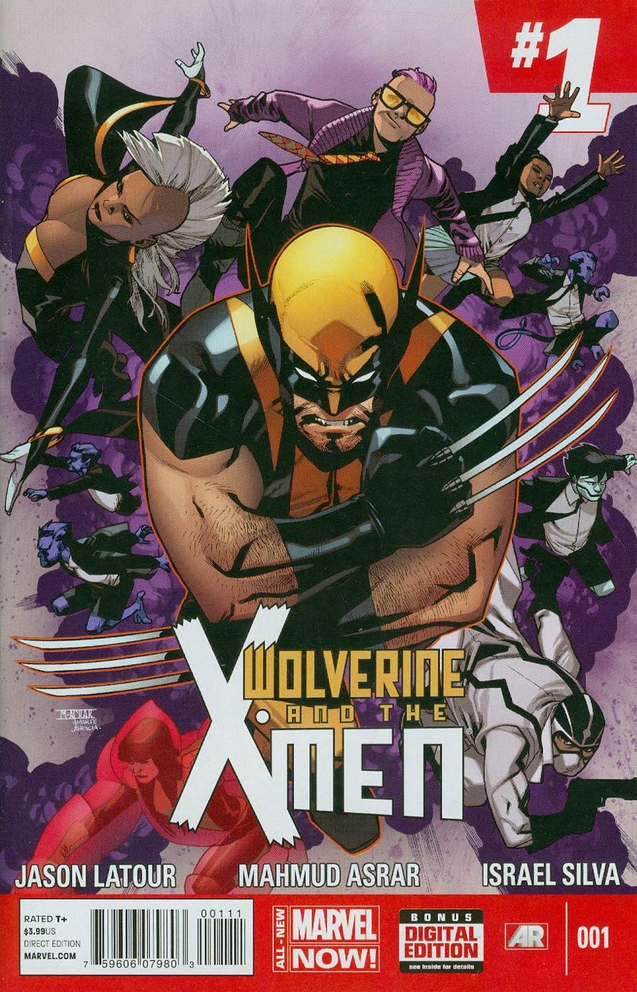 Wolverine And The X-Men Vol 2 #1 Cover A Regular Mahmud Asrar Cover