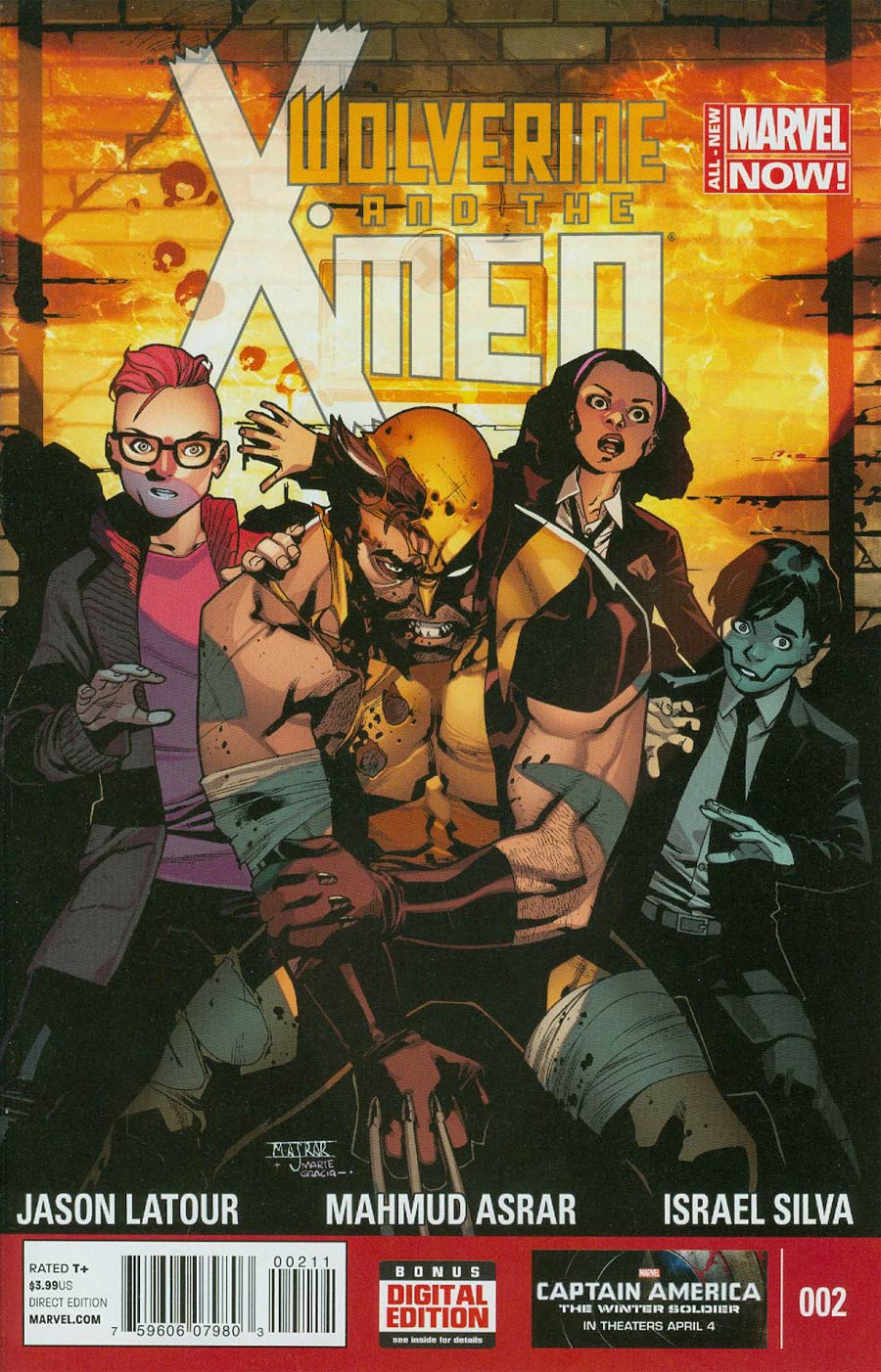 Wolverine And The X-Men Vol 2 #2 Cover A Regular Mahmud Asrar Cover
