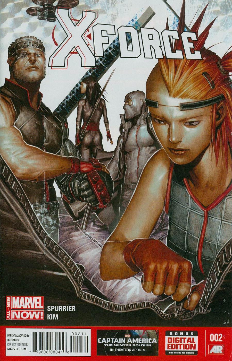 X-Force Vol 4 #2 Cover A Regular Rock-He Kim Cover