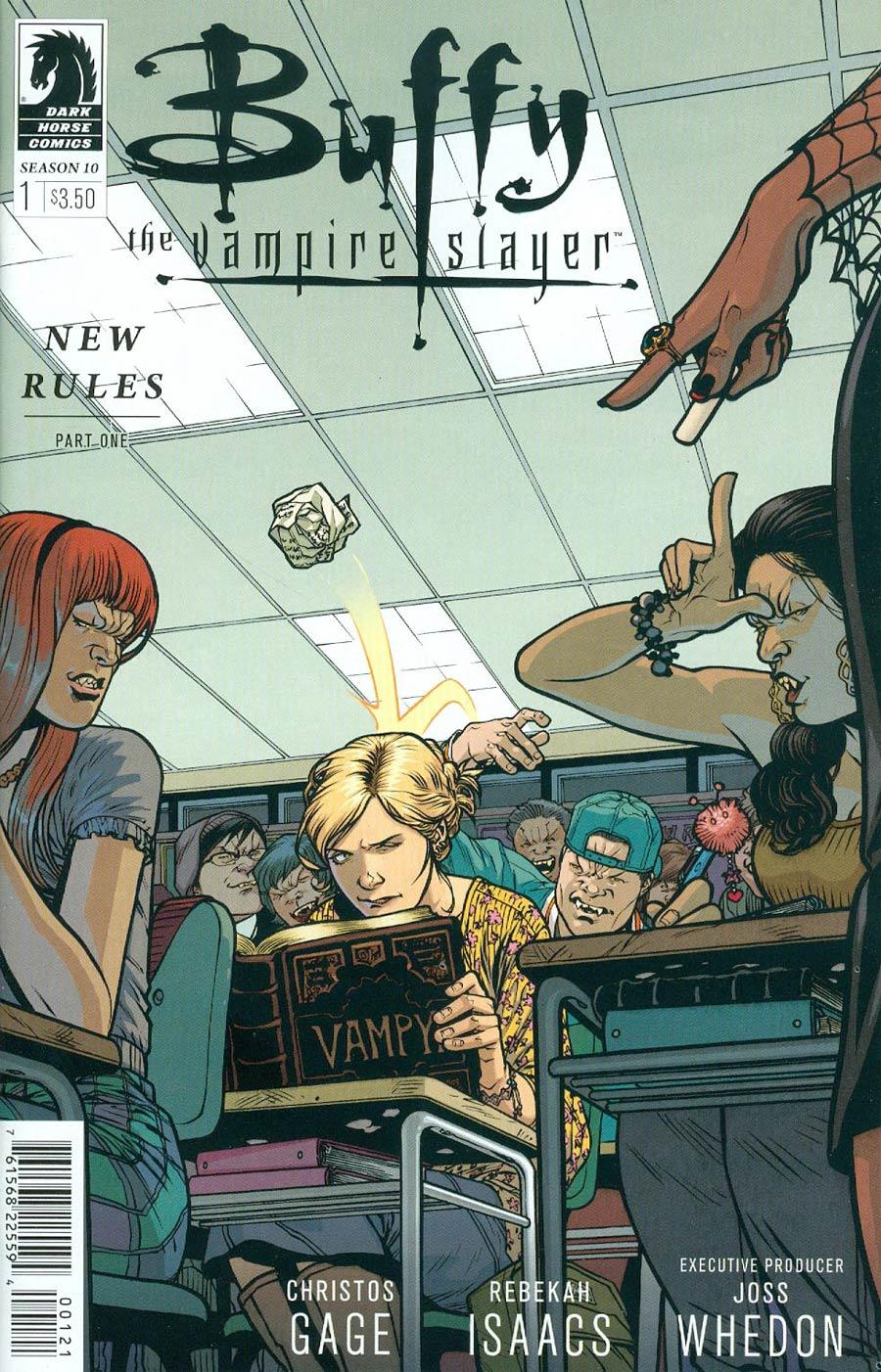 Buffy The Vampire Slayer Season 10 #1 Cover B Variant Rebekah Isaacs Cover