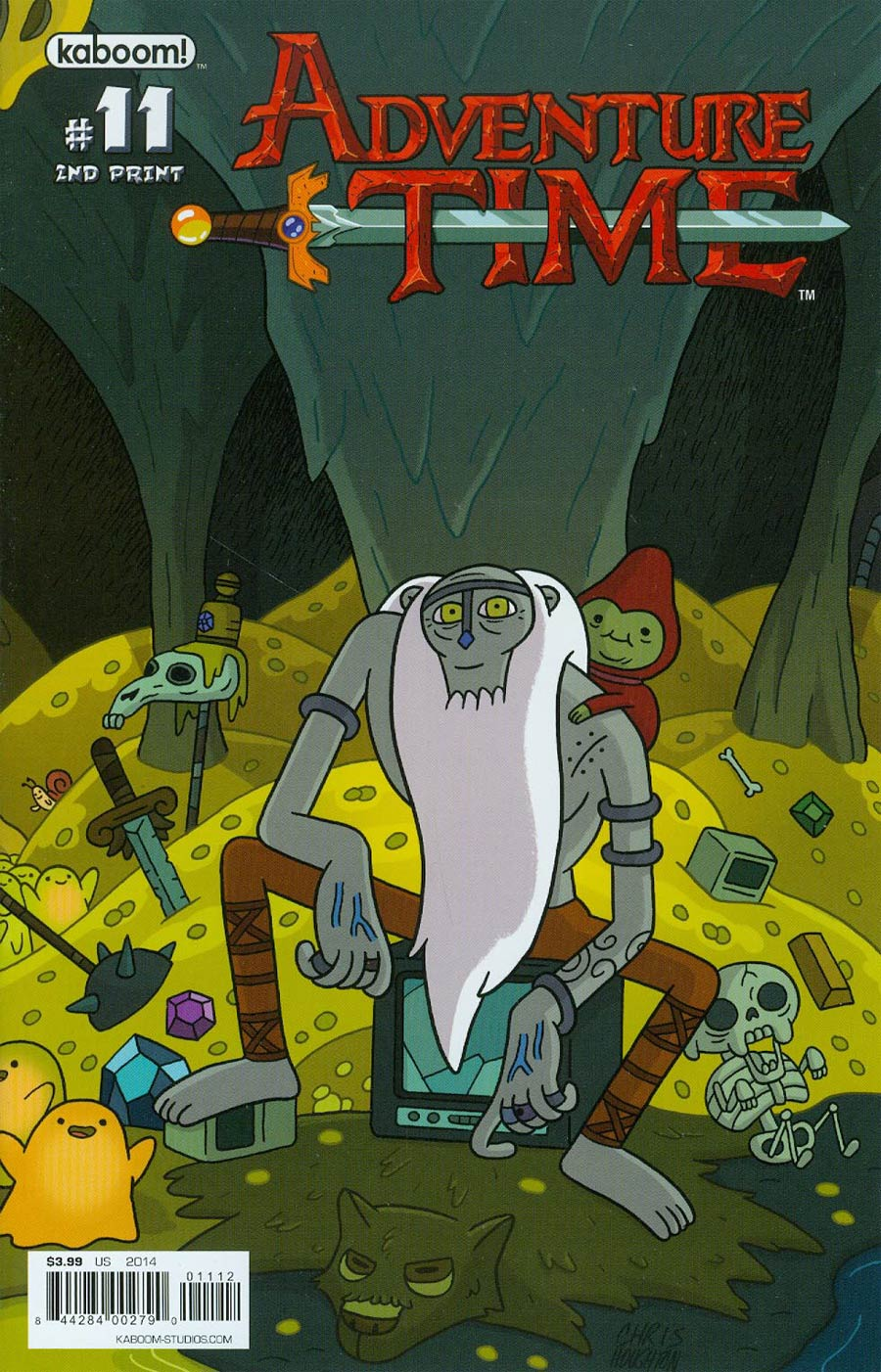Adventure Time #11 Cover F 2nd Ptg Connecting Cover