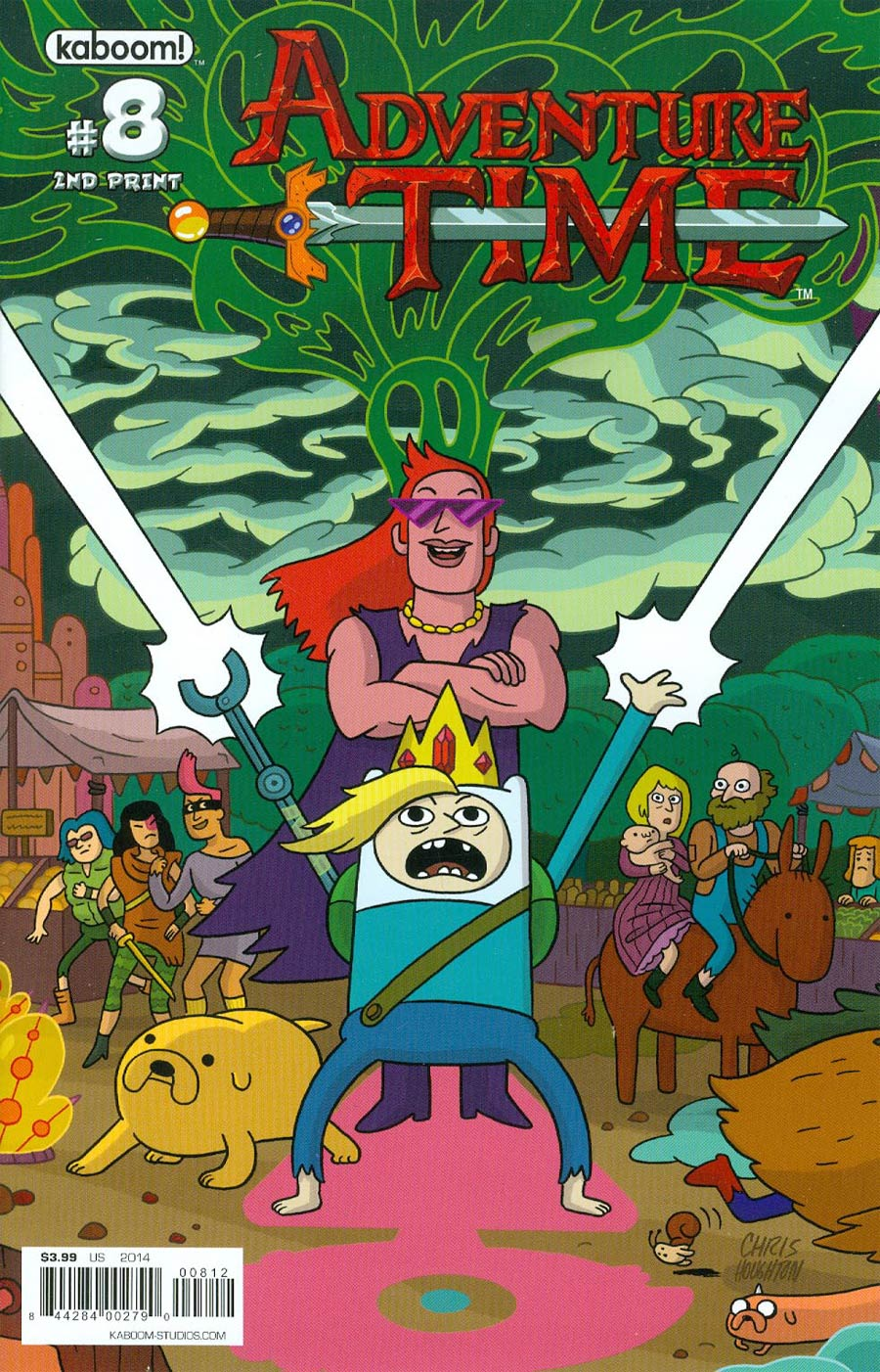 Adventure Time #8 Cover E 2nd Ptg Connecting Cover