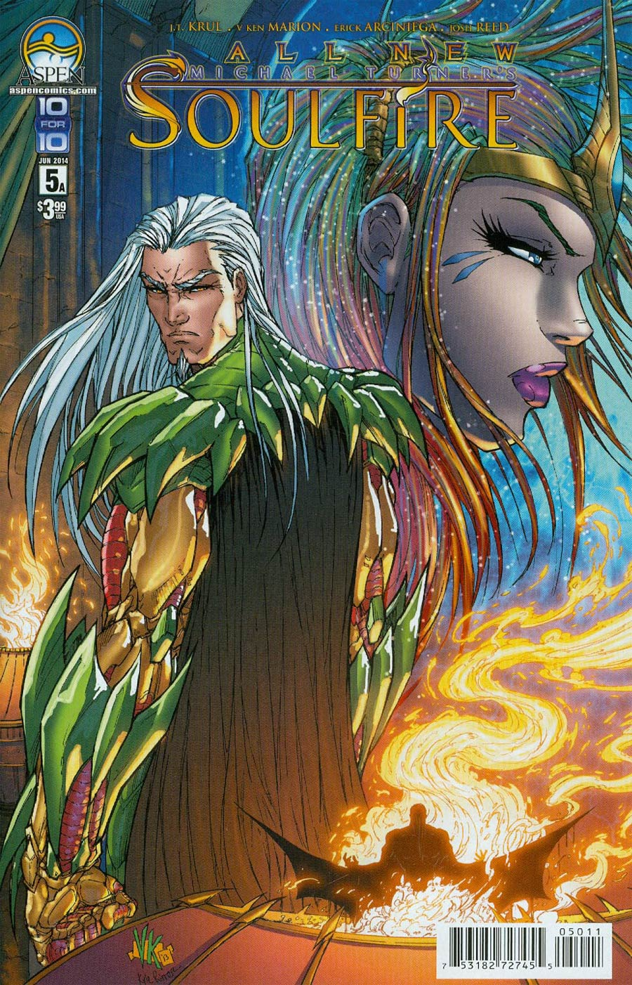 All New Soulfire #5 Cover A V Ken Marion