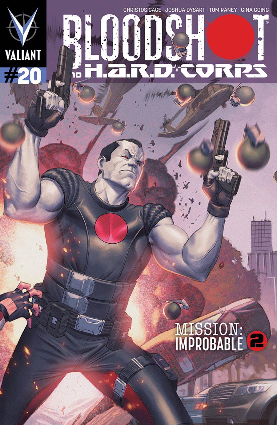 Bloodshot And H.A.R.D. Corps #20 Cover B Variant Jorge Molina Pullbox Cover (Mission Improbable Part 2)