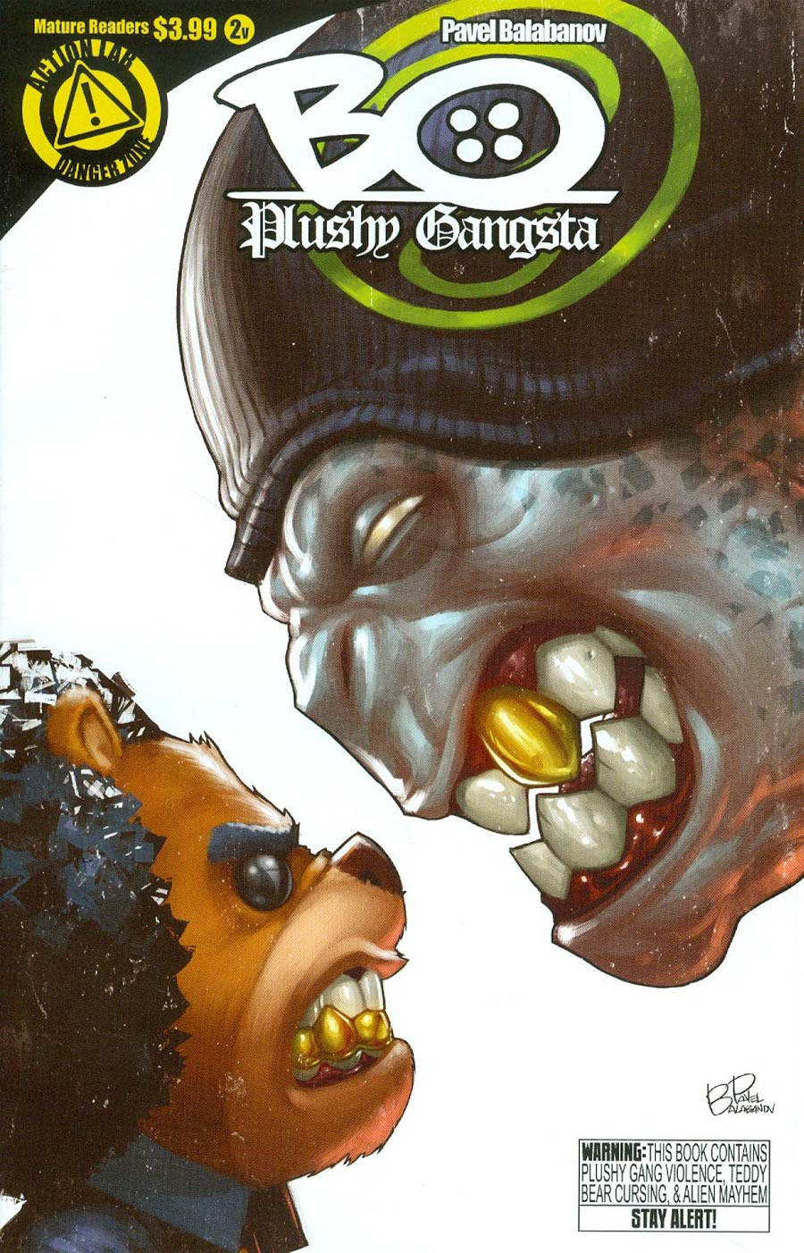 Bo Plushy Gangsta #2 Cover B Variant Pavel Balabanov Cover