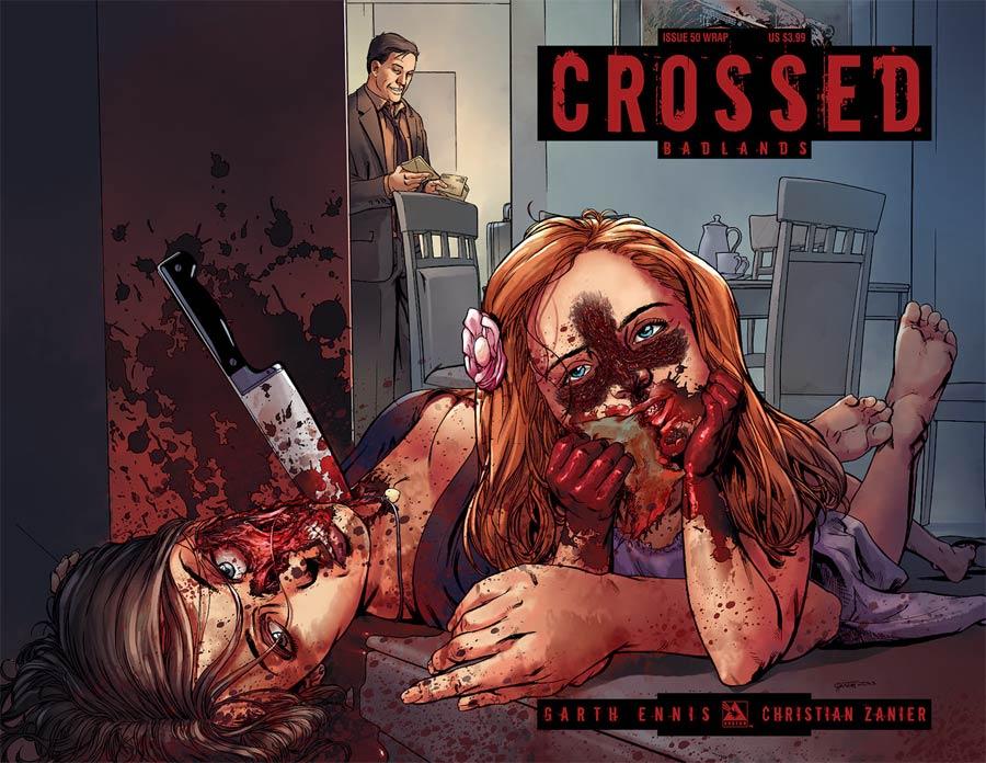 Crossed Badlands #50 Cover B Wraparound Cover