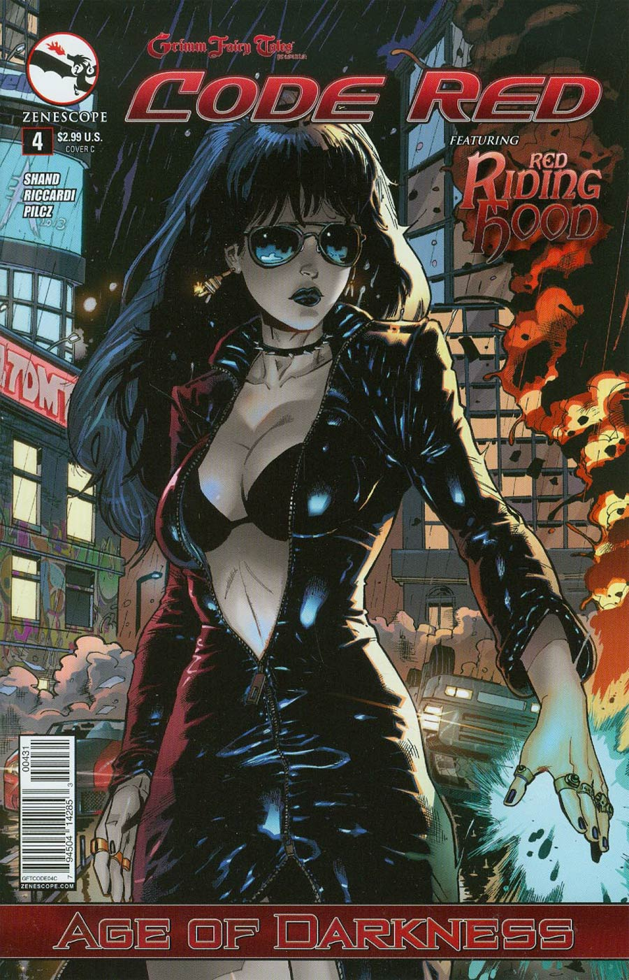 Grimm Fairy Tales Presents Code Red #4 Cover C Andrea Errico (Age Of Darkness Tie-In)