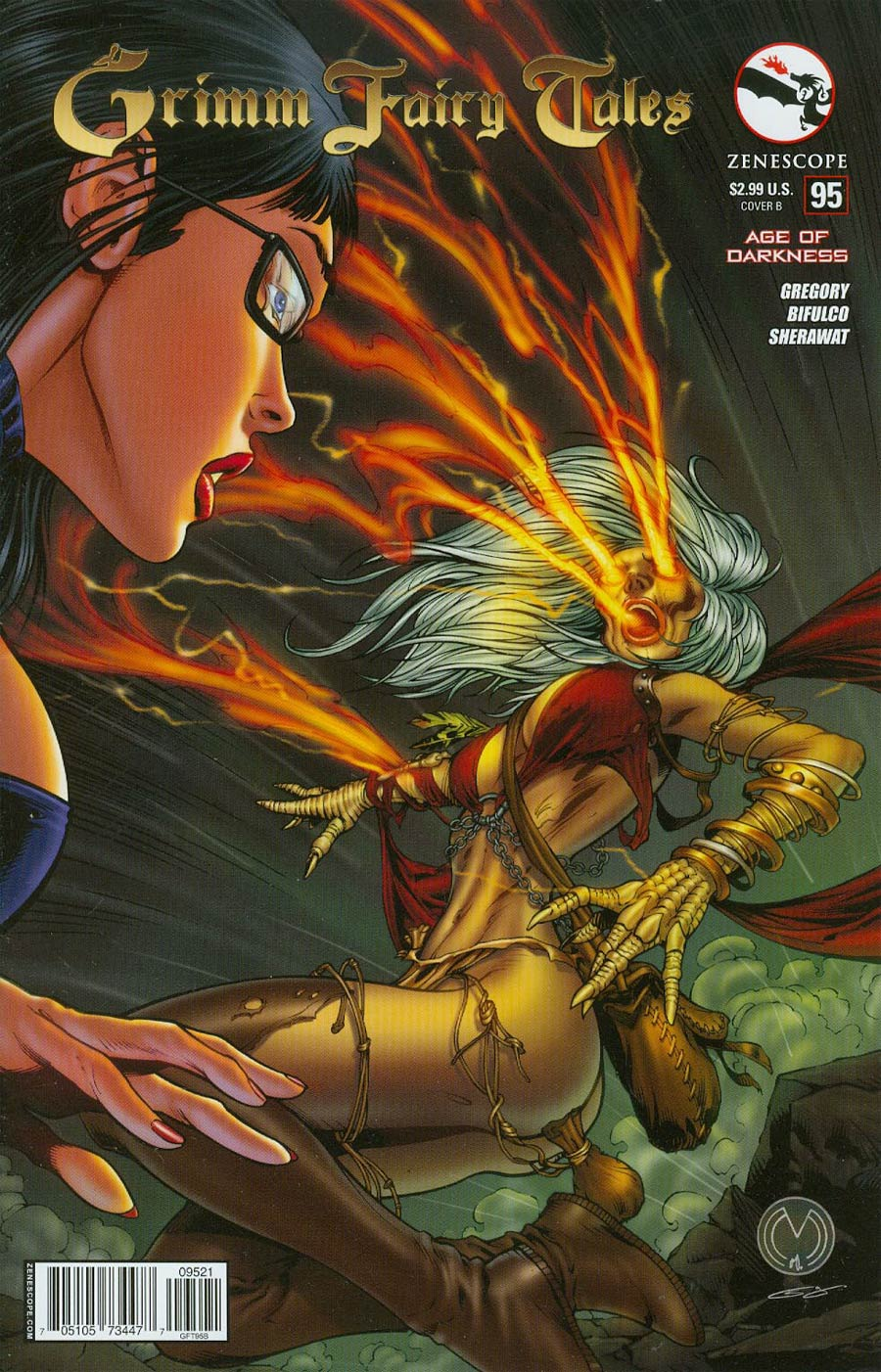 Grimm Fairy Tales #95 Cover B Marat Mychaels (Age Of Darkness Tie-In)