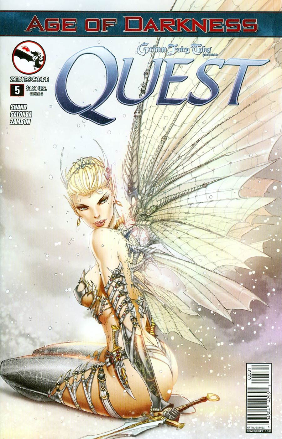 Grimm Fairy Tales Presents Quest #5 Cover C Jamie Tyndall (Age Of Darkness Tie-In)