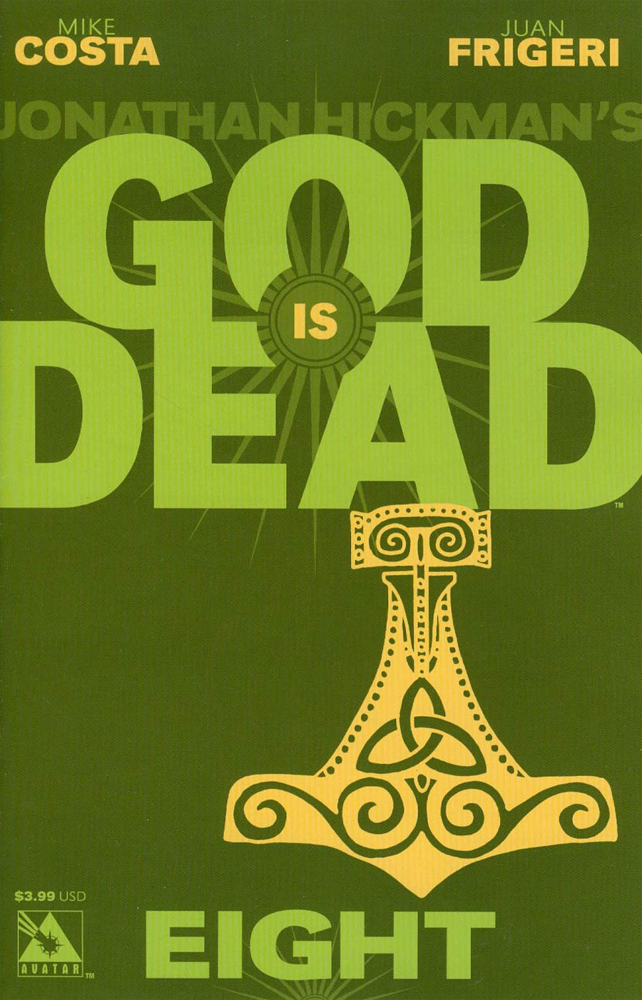 God Is Dead #8 Cover A Regular Cover