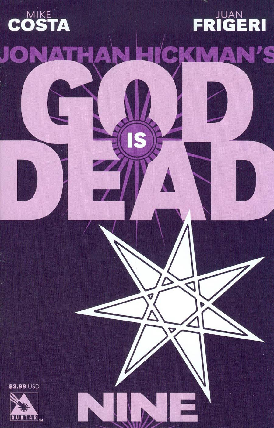 God Is Dead #9 Cover A Regular Cover
