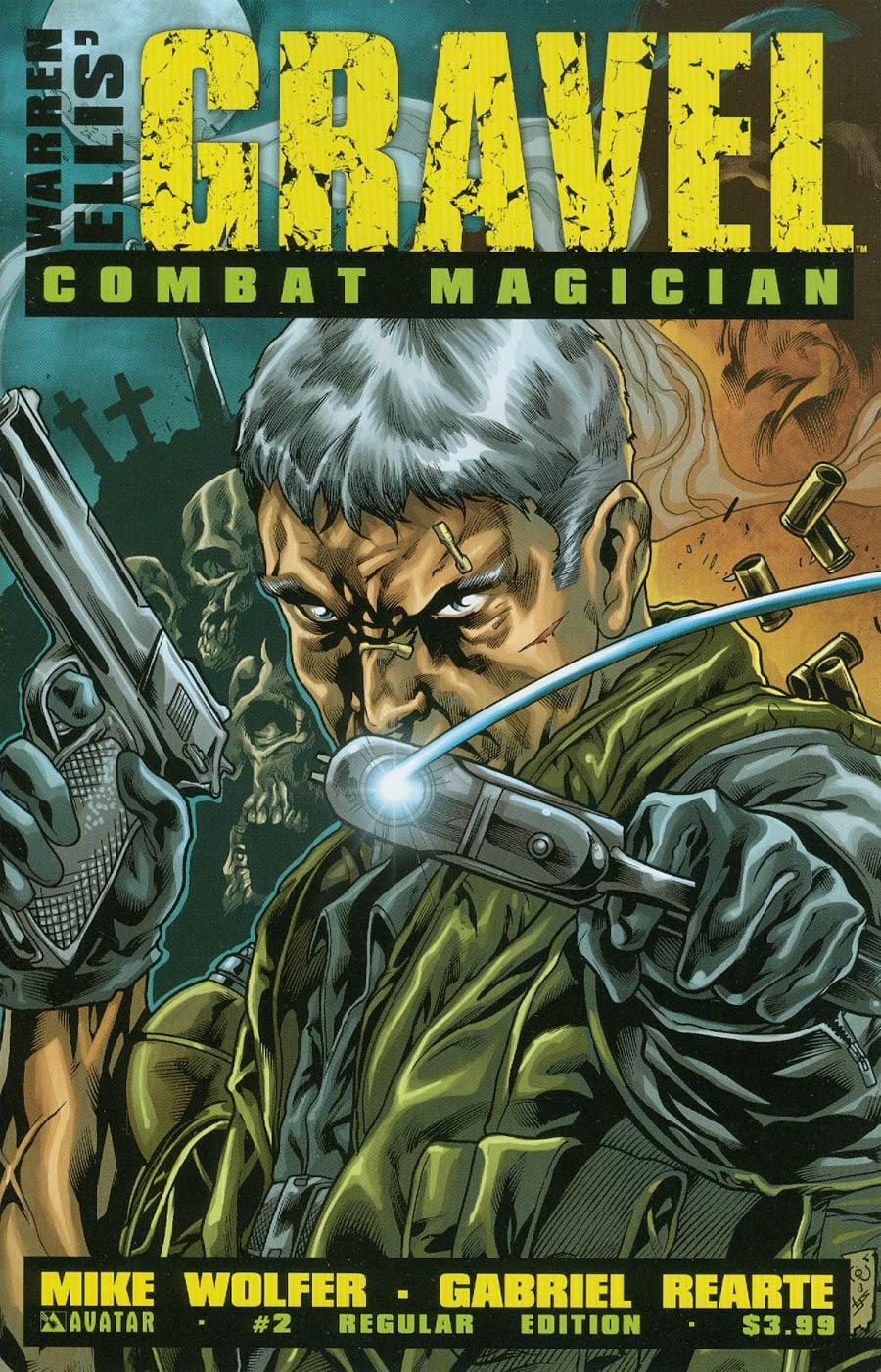 Gravel Combat Magician #2 Cover A Regular Cover