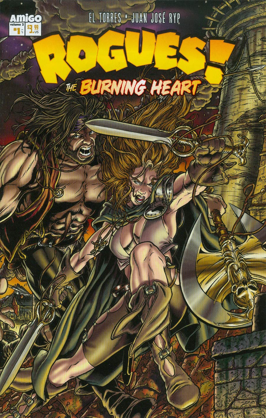 Rogues The Burning Heart #1