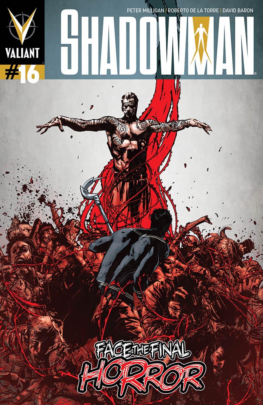 Shadowman Vol 4 #16 Cover A Regular Roberto De La Torre Cover