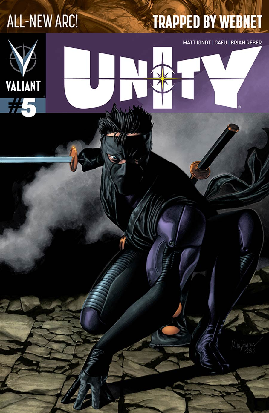 Unity Vol 2 #5 Cover B Variant Mico Suayan Pullbox Cover