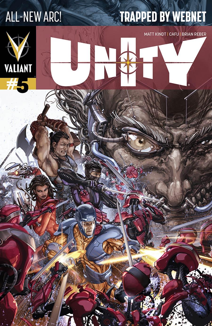 Unity Vol 2 #5 Cover A Regular Clayton Crain Cover