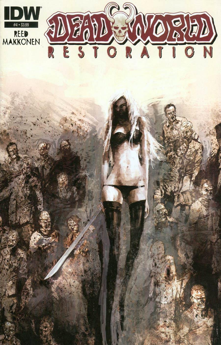 Deadworld Restoration #4 Cover A Regular Sami Makkonen Cover