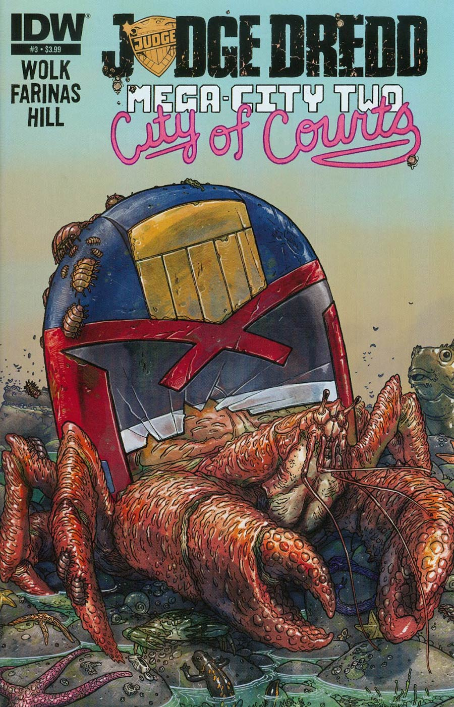 Judge Dredd Mega-City Two #3 Cover A Regular Ulises Farinas Cover