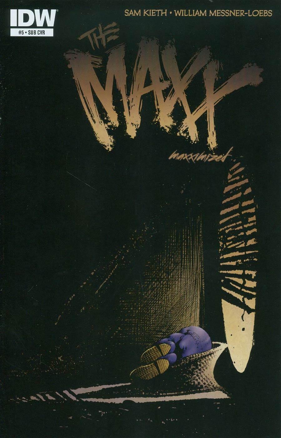 Maxx Maxximized #5 Cover B Variant Sam Kieth Subscription Cover