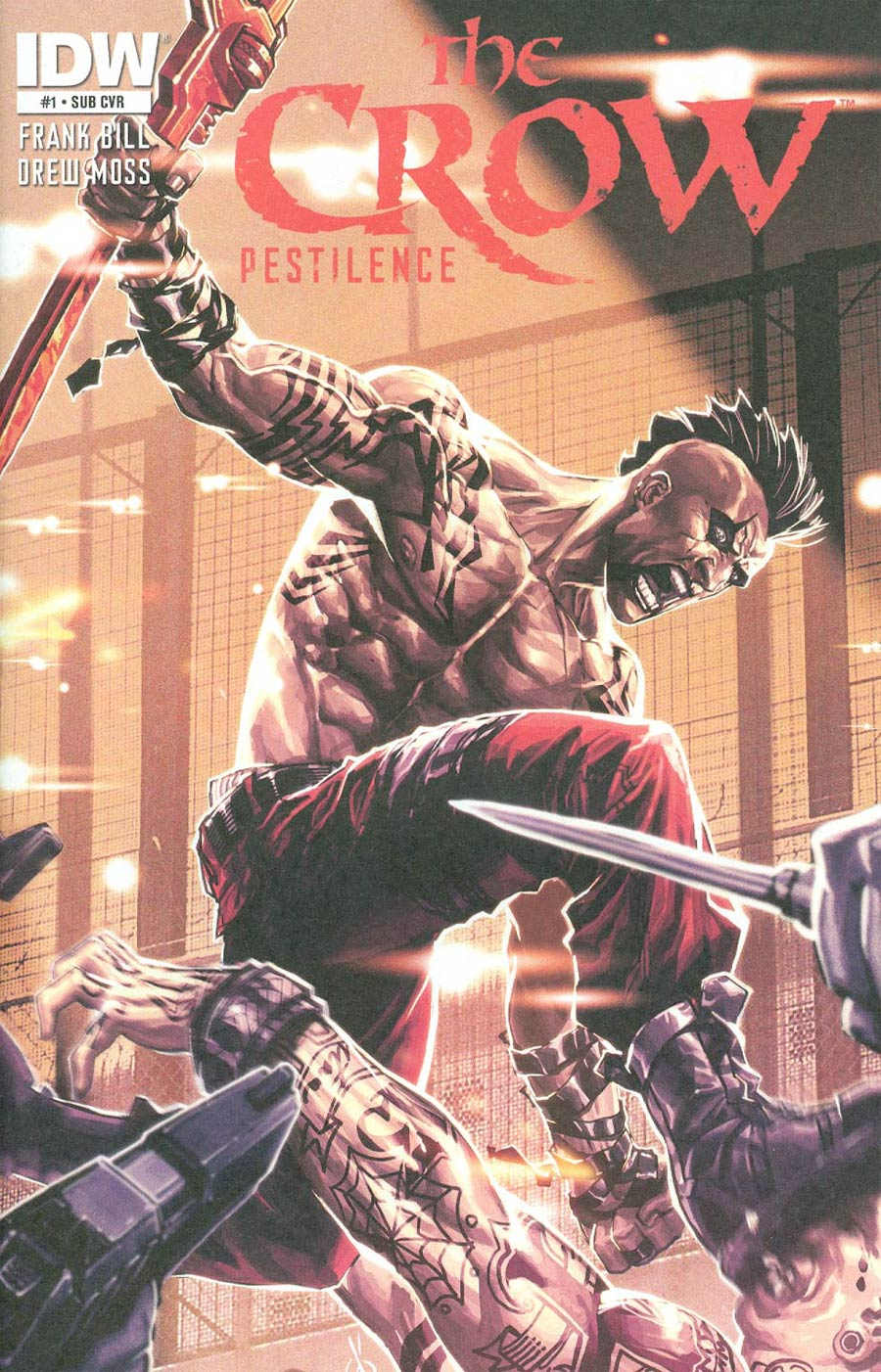 Crow Pestilence #1 Cover B Variant Carlos Danda Subscription Cover