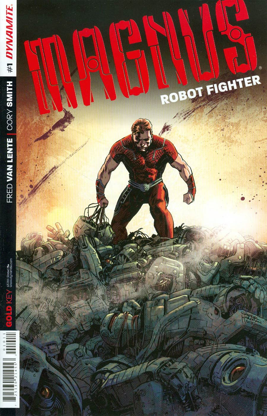 Magnus Robot Fighter Vol 4 #1 Cover A 1st Ptg Regular Gabriel Hardman Cover