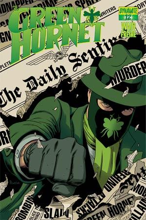 Mark Waids Green Hornet #12 Cover A Regular Paolo Rivera Cover