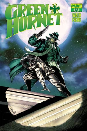 Mark Waids Green Hornet #12 Cover B Variant Jonathan Lau Subscription Cover