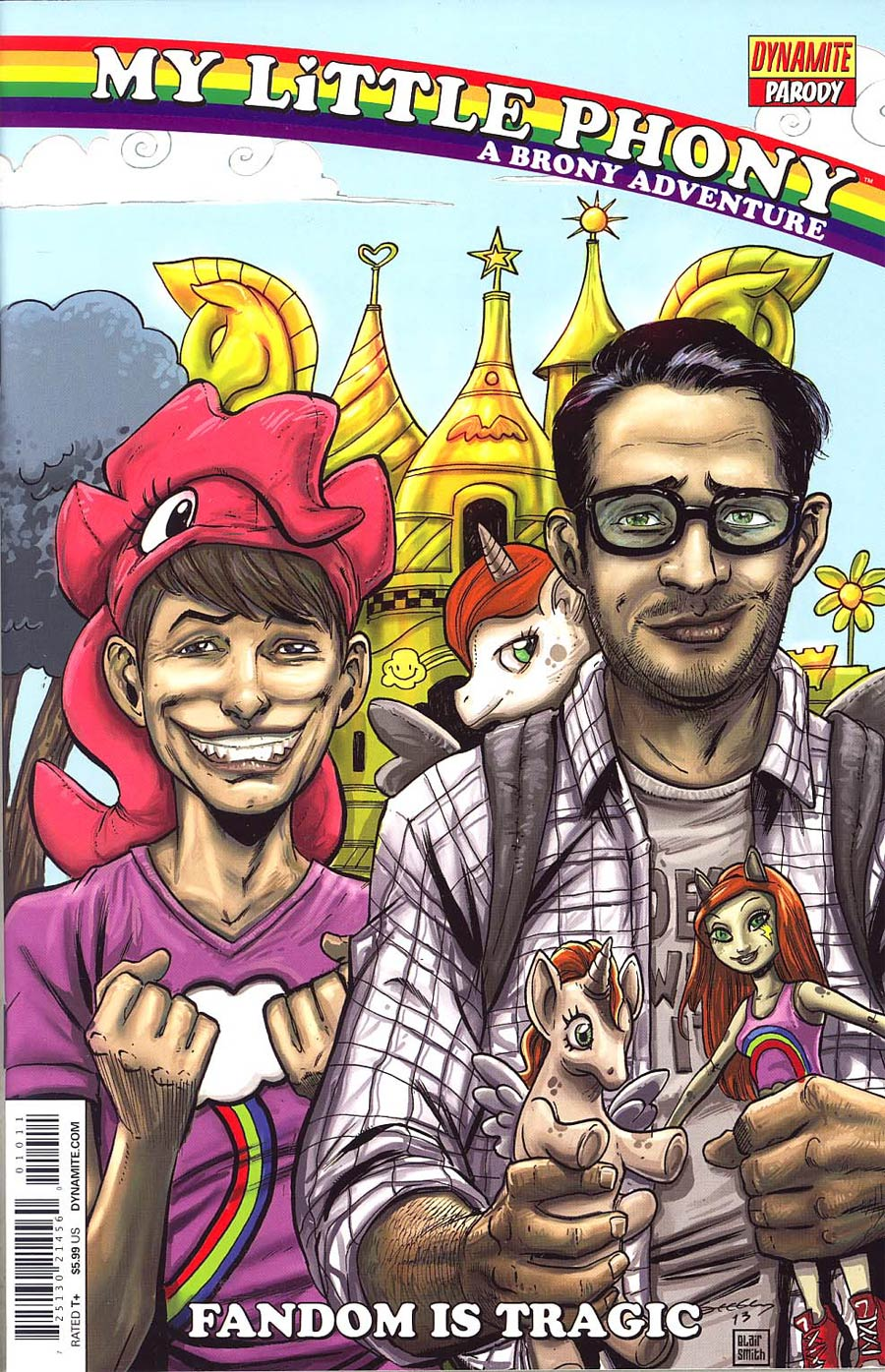 My Little Phoney A Brony Adventure One Shot Cover A Regular Tim Seeley Cover