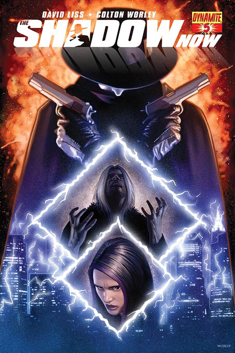 Shadow Now #5 Cover B Variant Colton Worley Subscription Cover