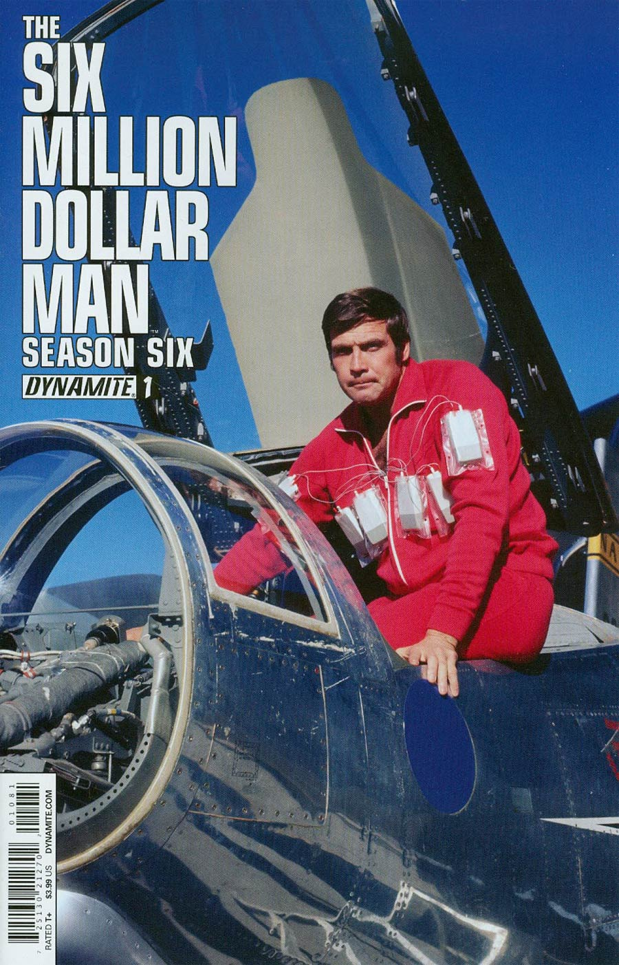 Six Million Dollar Man Season 6 #1 Cover C Variant Photo Subscription Cover