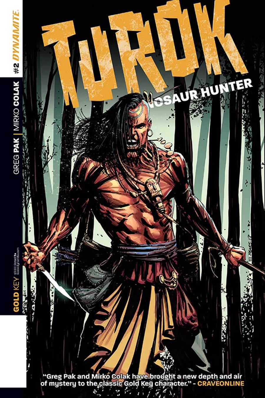 Turok Dinosaur Hunter Vol 2 #2 Cover A Regular Bart Sears Cover