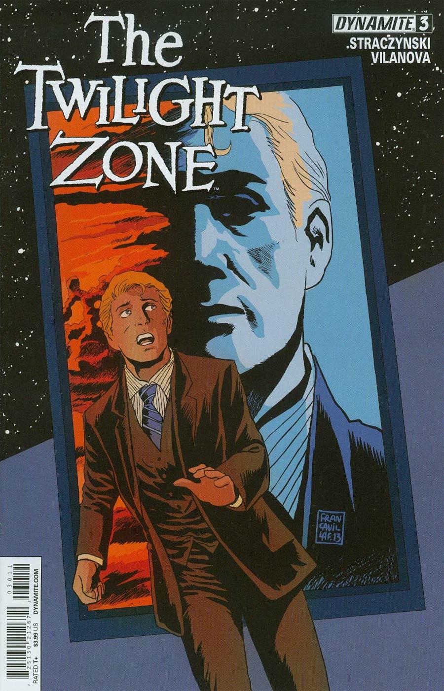 Twilight Zone Vol 5 #3 Cover A Regular Francesco Francavilla Cover