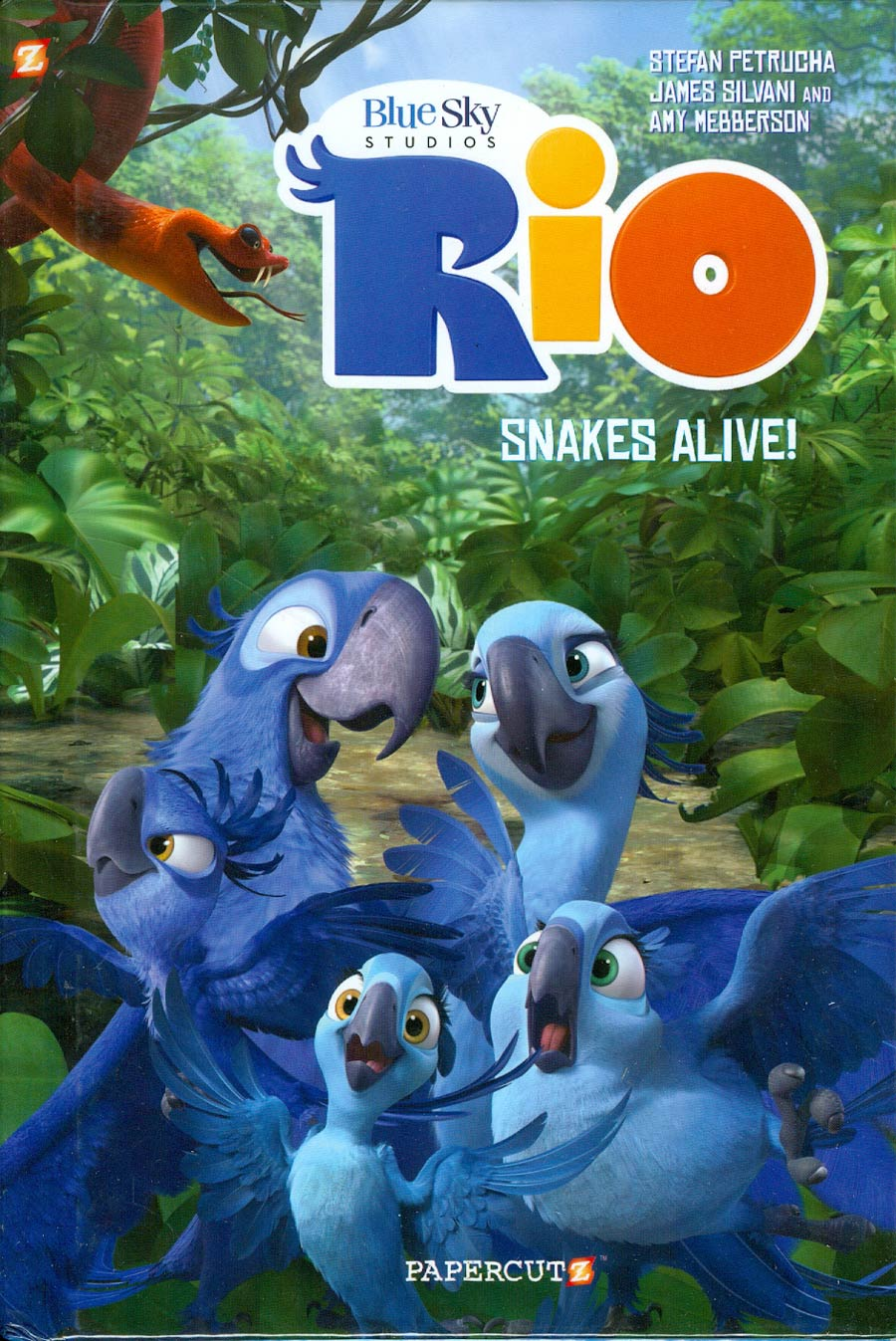 Rio Vol 1 Snakes Alive HC