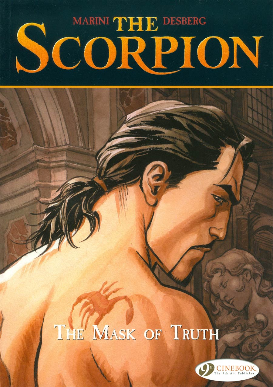 Scorpion Vol 7 Mask Of Truth GN