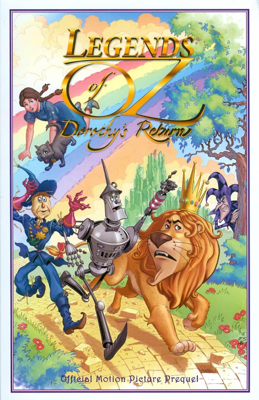 Legends Of Oz Dorothys Return TP