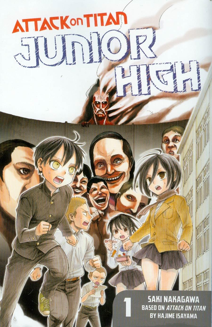 Attack On Titan Junior High Vol 1 GN