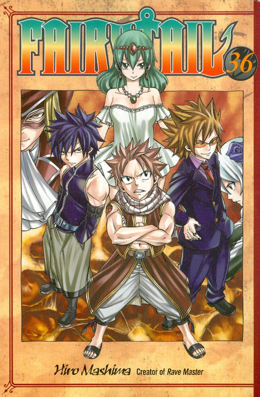 Fairy Tail Vol 36 GN