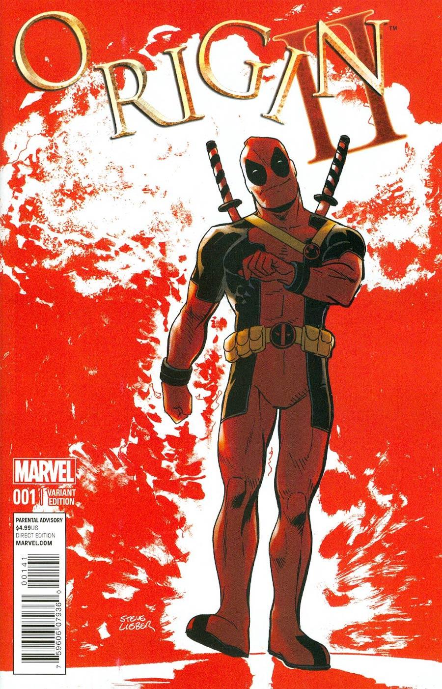 Origin II #1 Cover D Variant Deadpool Cover