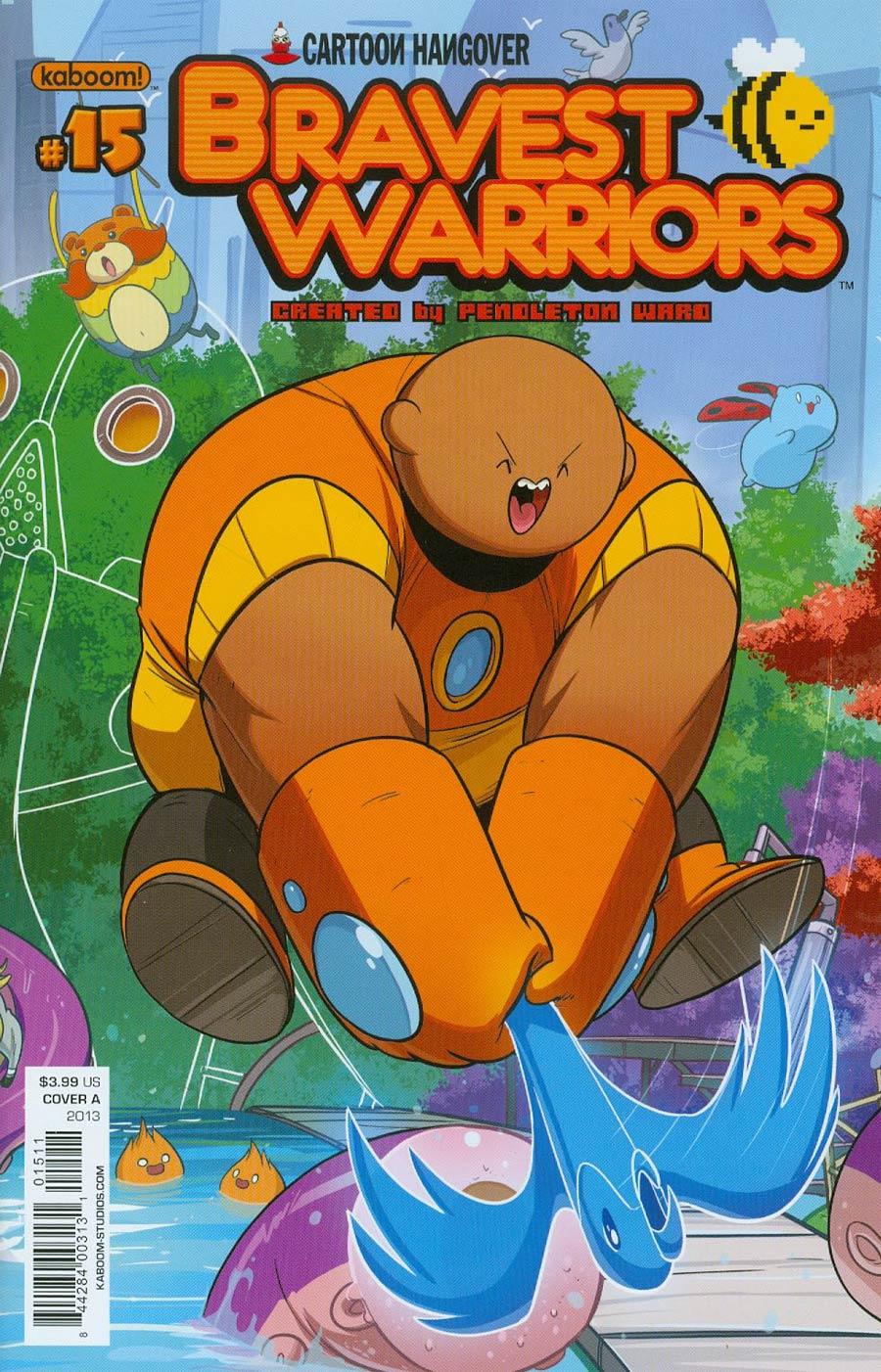 Bravest Warriors #15 Cover A Regular Tyson Hesse Cover