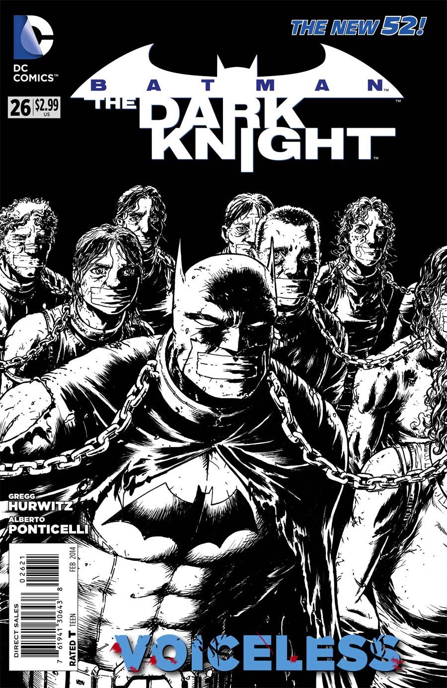Batman The Dark Knight Vol 2 #26 Cover B Incentive Chris Burnham Sketch Cover