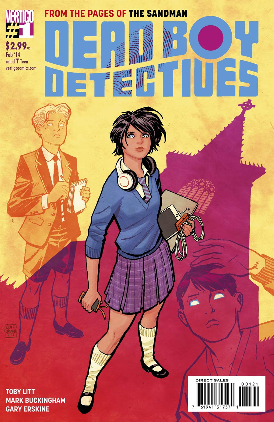 Dead Boy Detectives #1 Cover B Incentive Cliff Chiang Variant Cover