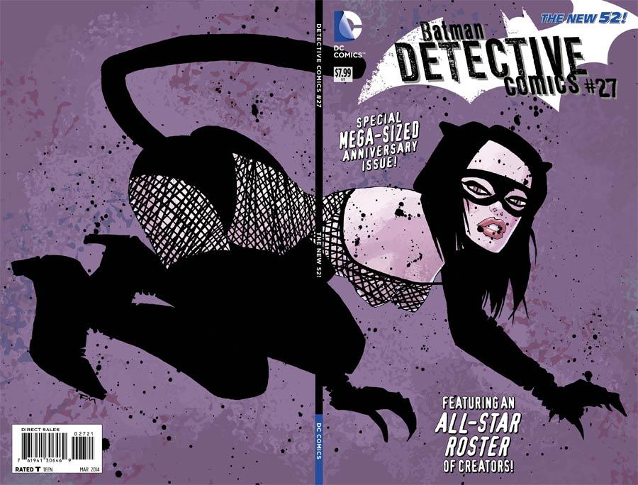 Detective Comics Vol 2 #27 Cover B Variant Frank Miller Cover (Gothtopia Tie-In)